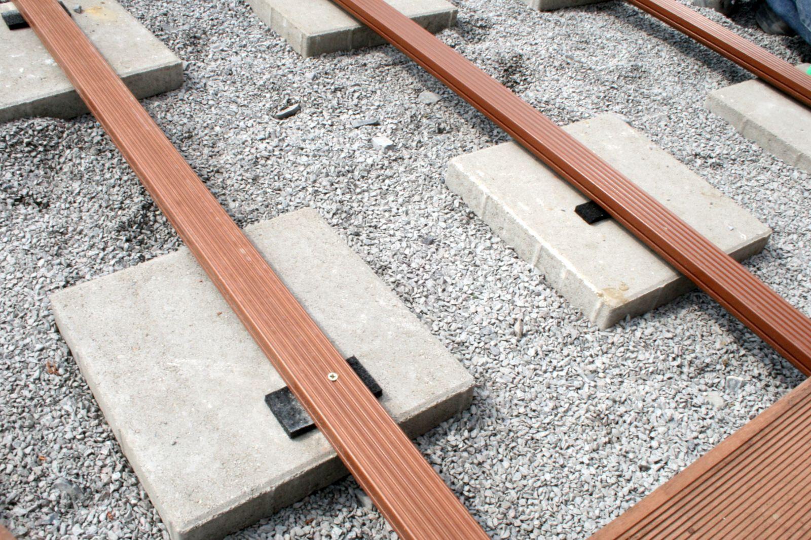 Von Null Auf Terrasse In Zwei Tagen Holzboden Terrasse Terrassenbau Terrasse Holz