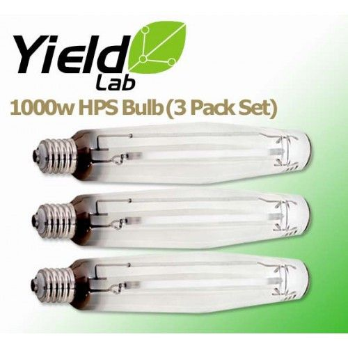 Yield Lab Hps 1000 Watt Hid Grow Light Bulb 3 Pack Grow Light Bulbs Hid Bulbs Grow Lights