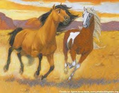paint spirit stallion of the cimarron # 4