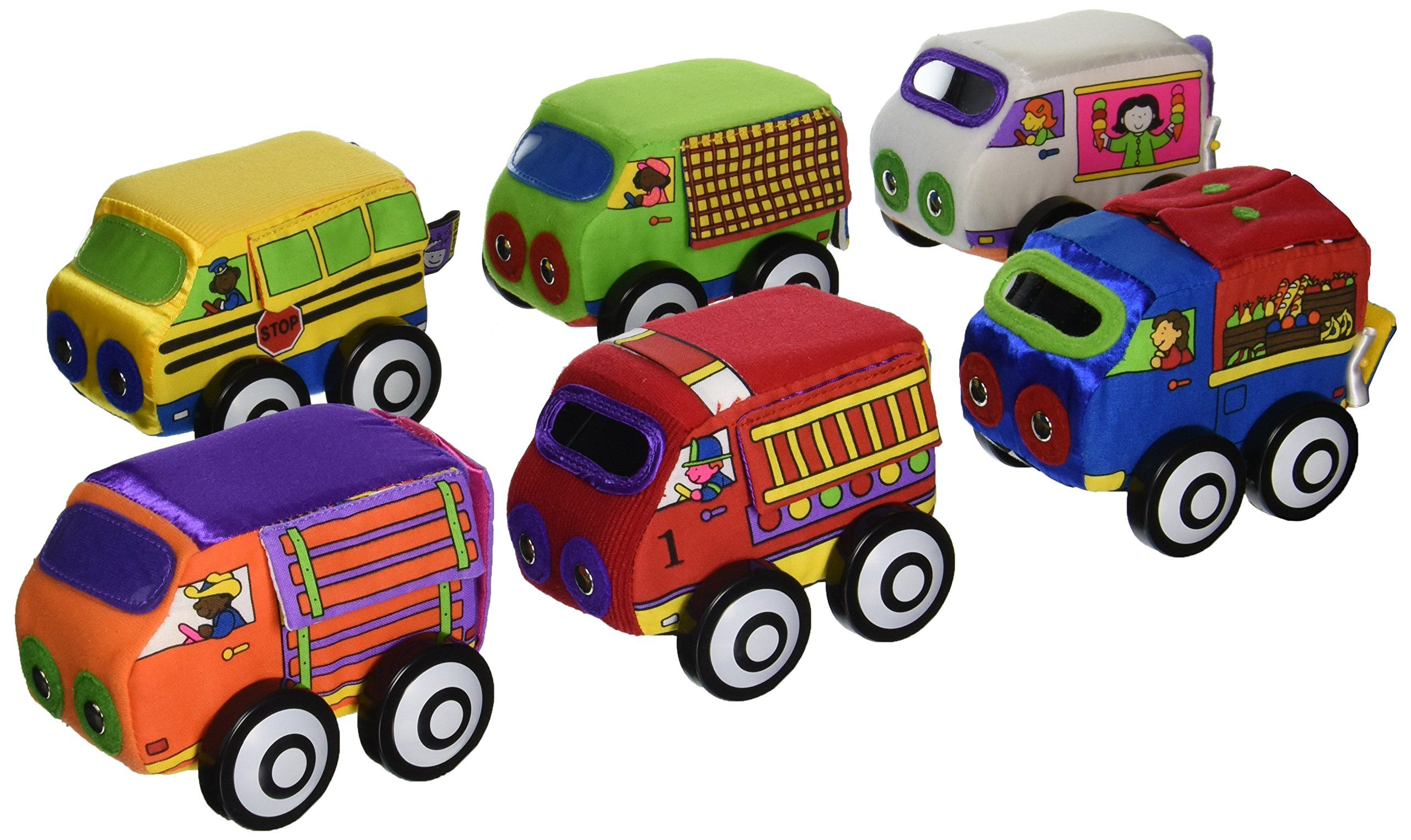 Toys car for baby  Small World Toys IQ Baby  Zoom Zoom Vehicles Whoosh here come the