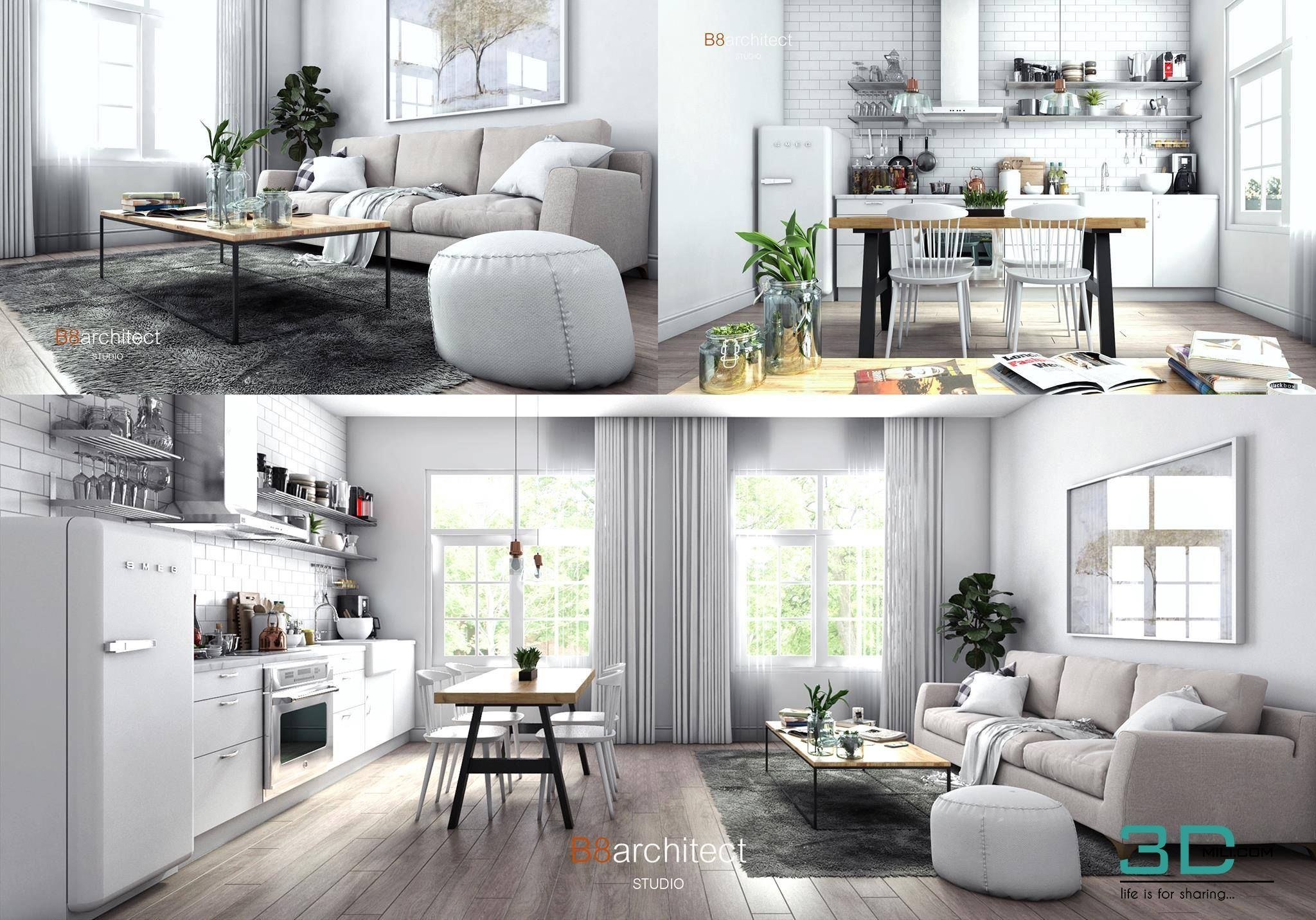 31 Living Room 31 3dsmax File Free Download 3d Mili Download 3d