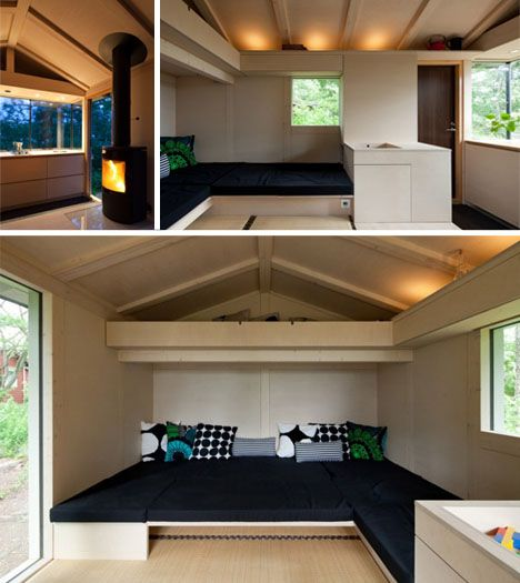 Canada 150 Small Home Designs: 150 Square Feet: Modern, Modest & Cozy Finnish Cottage