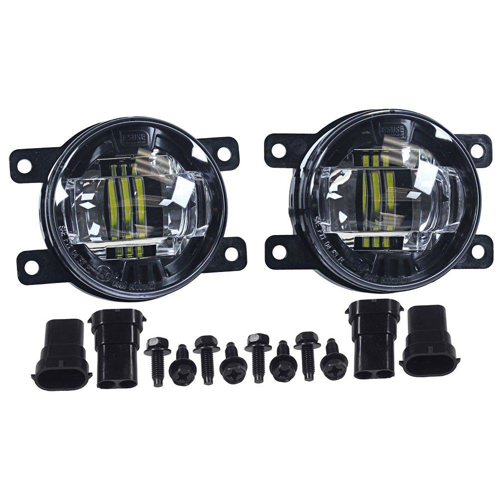 Diode Dynamics Fog Light Led Luxeon With Projector Housing Pair Focus St 2013 2014 Fiesta St 2014 2017 Fiesta St Led Lights Ford Focus St