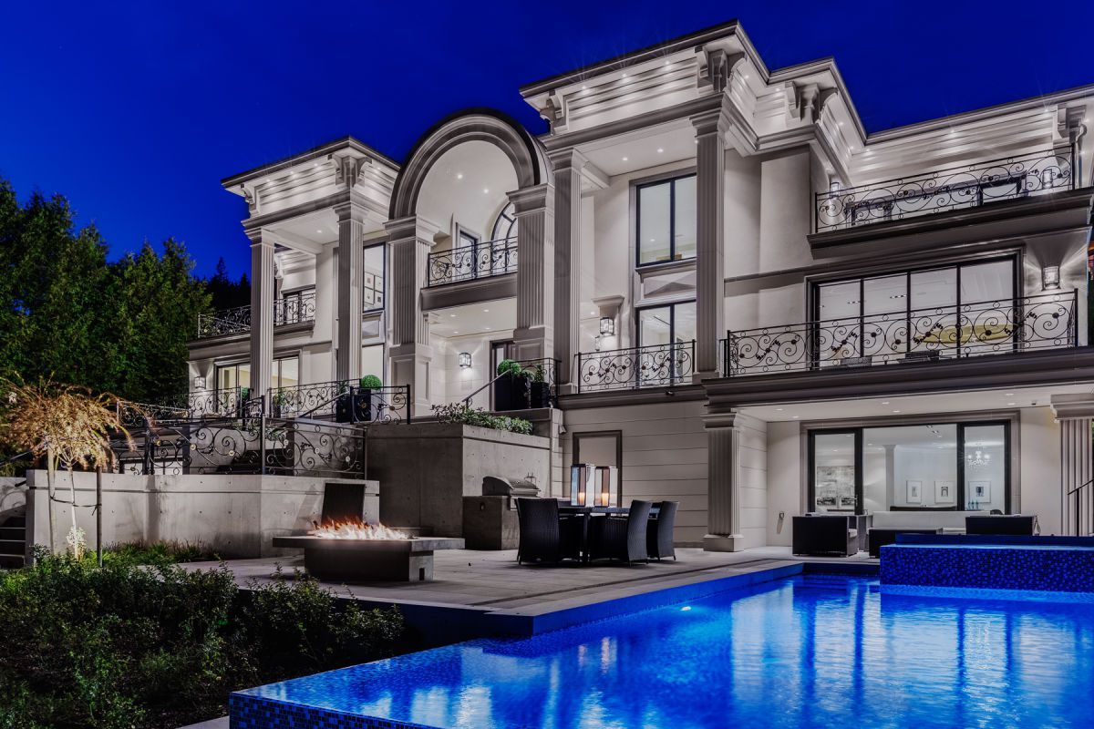 West Vancouver Mansion Currently For Sale Mansions In