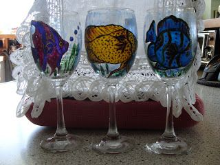 Christine Flannery Glass Painting