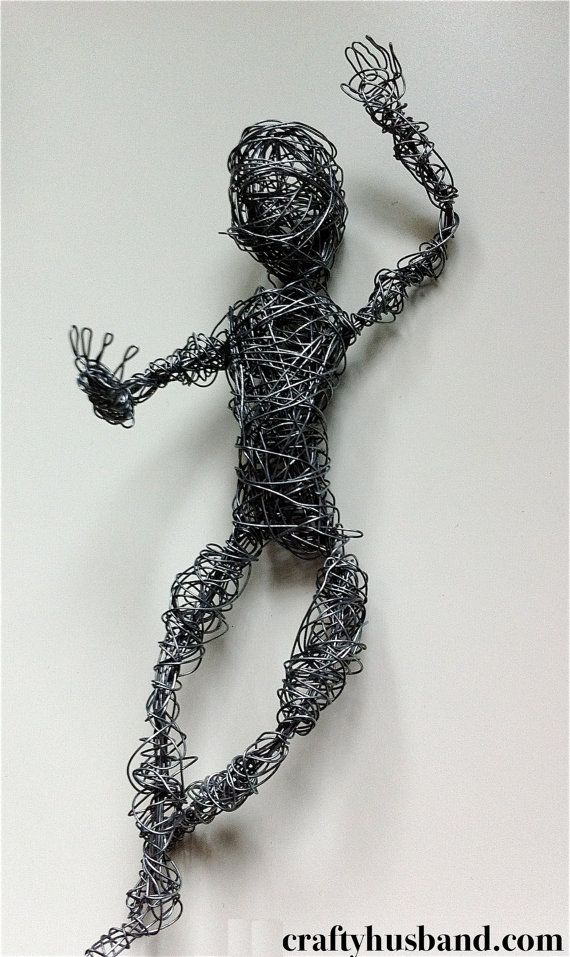 I love wire figures of all kinds | Patio & Ornos | Pinterest | Wire ...