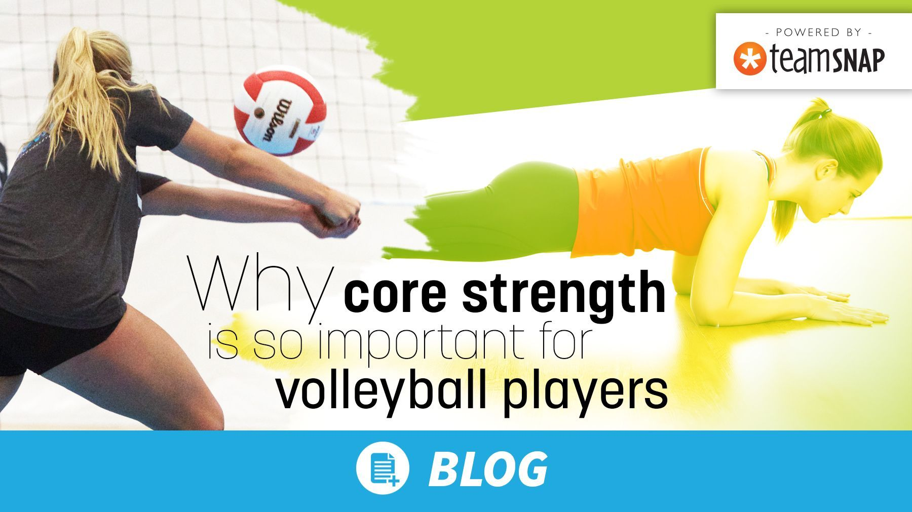 Why Core Strength Is So Important For Volleyball Players The Art Of Coaching Volleyball Coaching Volleyball Core Strength Volleyball Players