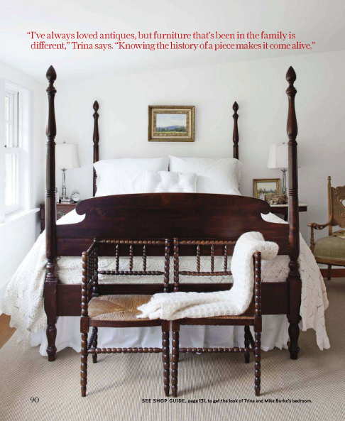 four poster bed -love this bed!