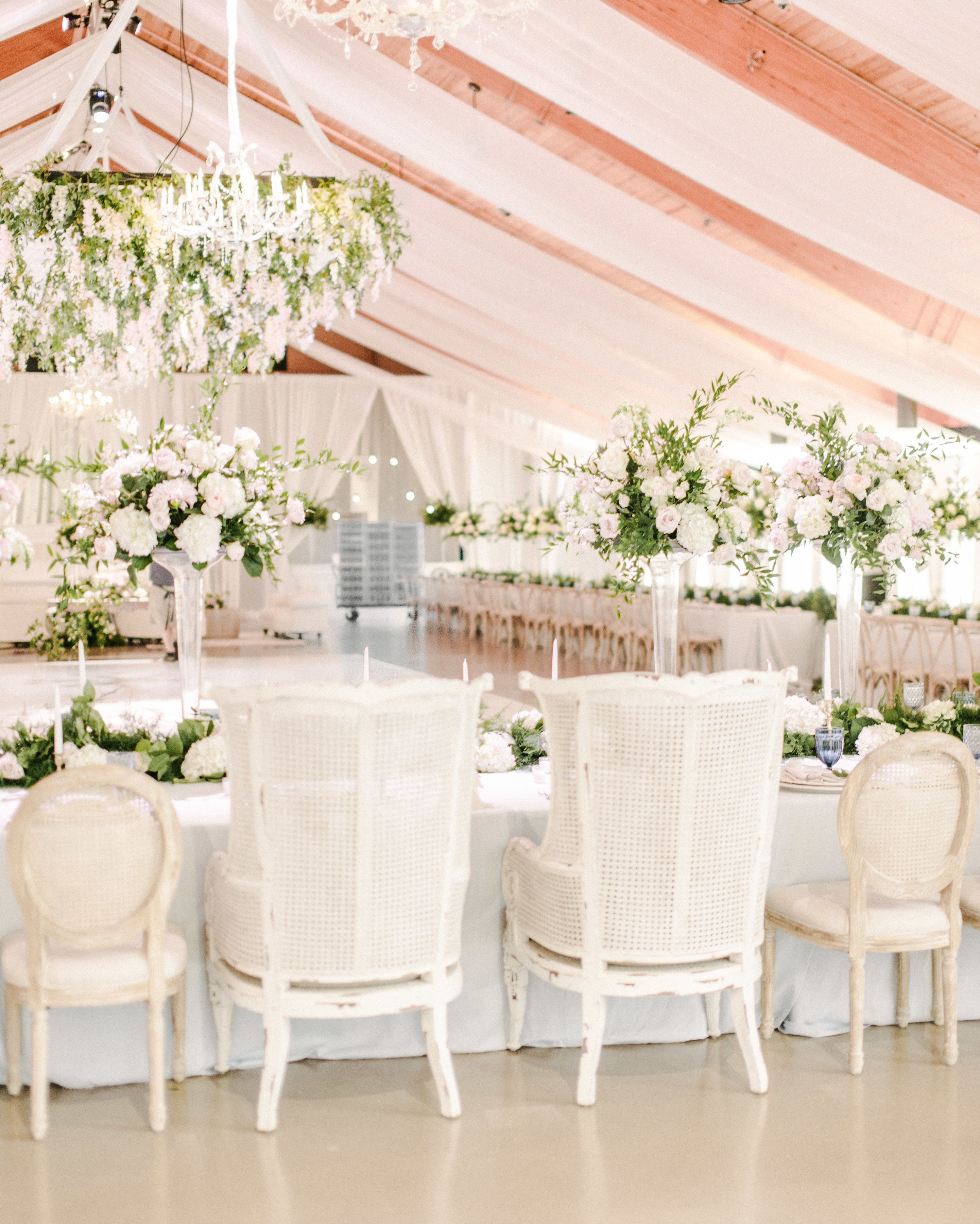 white wedding sweetheart head table inspiration rentals white rh pinterest com