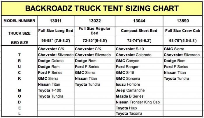 Napier Outdoors Backroadz 13 Full Size Short Bed Truck Tent 6 5ft Truck Tent Chevrolet S 10 Camper Trailers