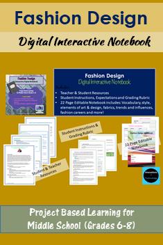 Digital Fashion Design Notebook Editable Digital Fashion Design Fashion Design Classes Fashion Design