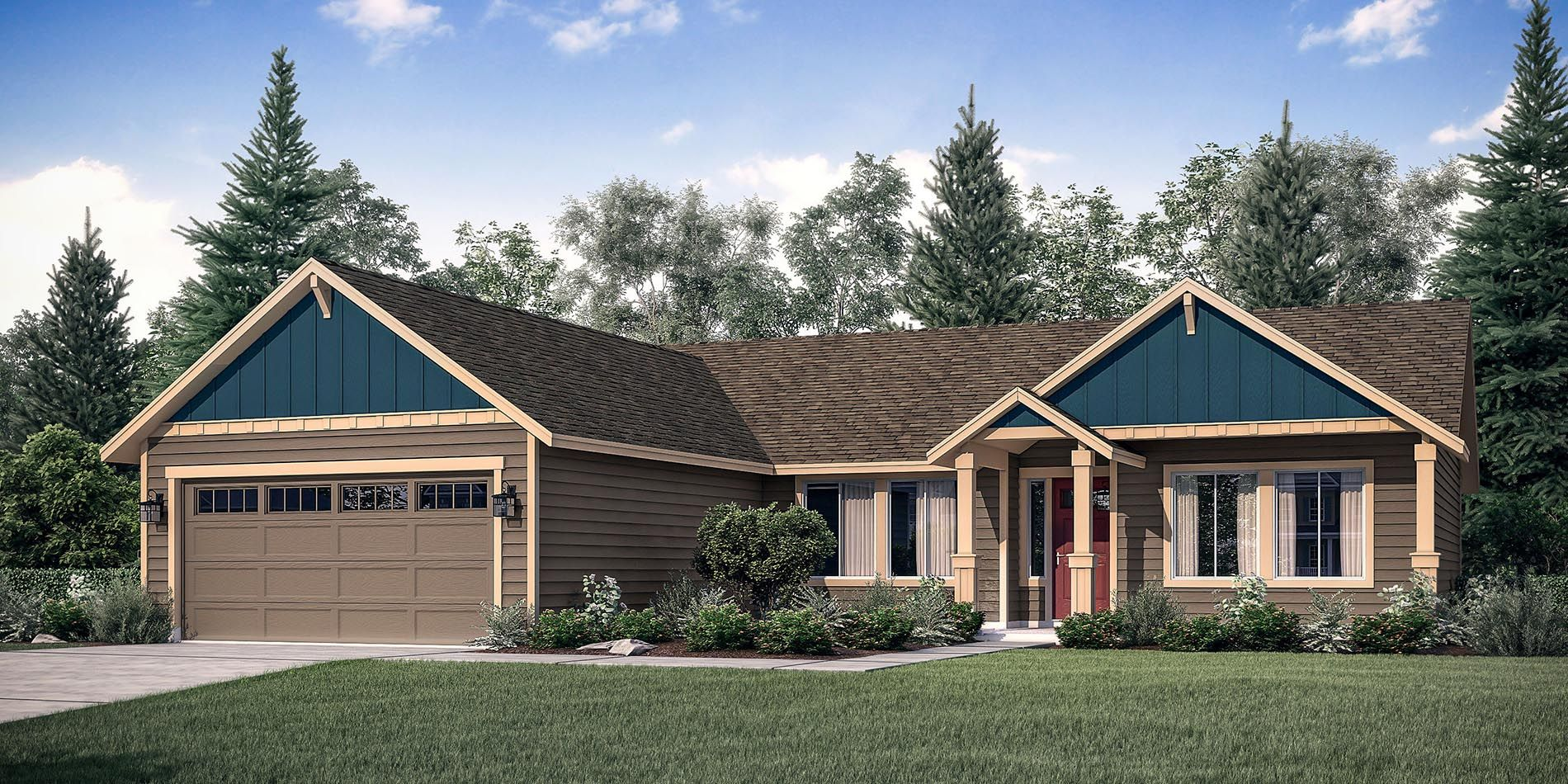 The Winchester Custom Home Floor Plan