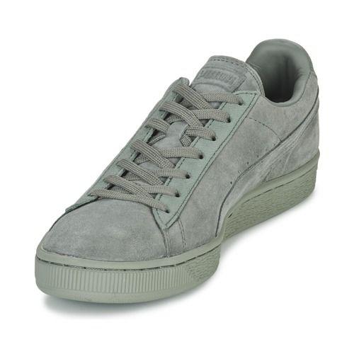 Daim Chaussures Puma Lage Tons Classiques Groen lZTkL