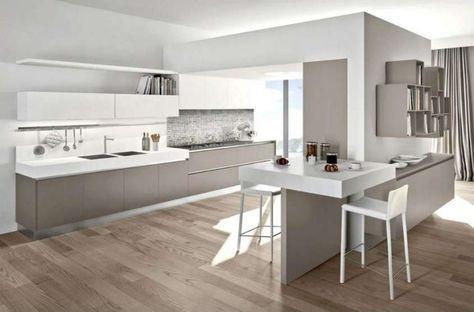 Abbinare il pavimento al rivestimento della cucina cucina