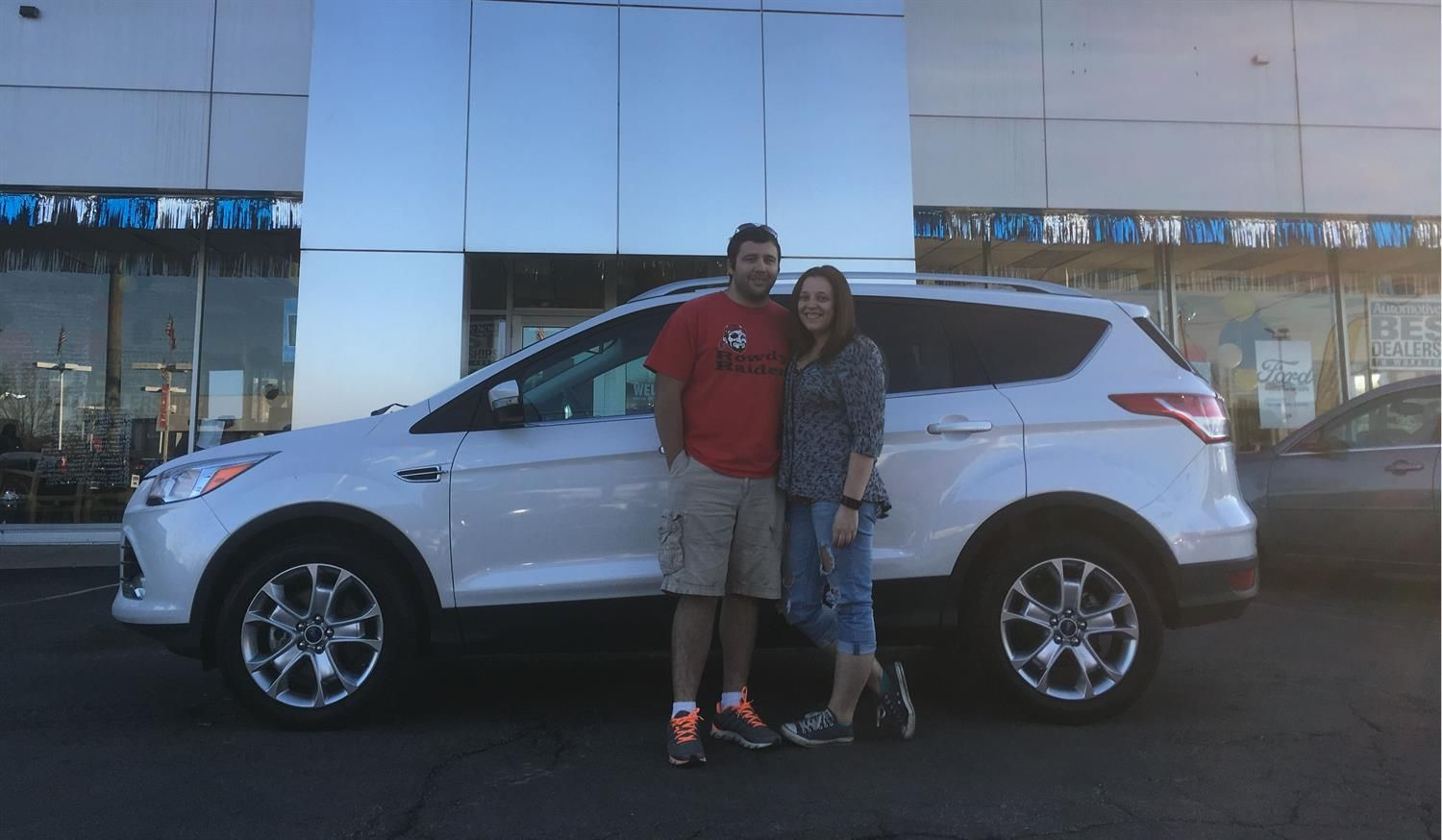 adam and haley wishing you many miles of smiles in your 2016 ford rh pinterest com