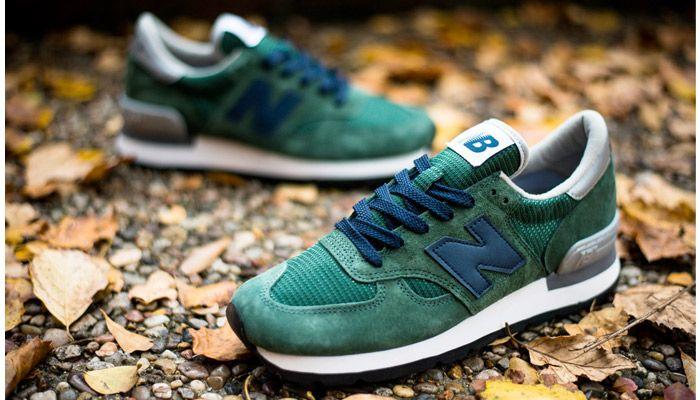 New Balance 990 Forest Blue