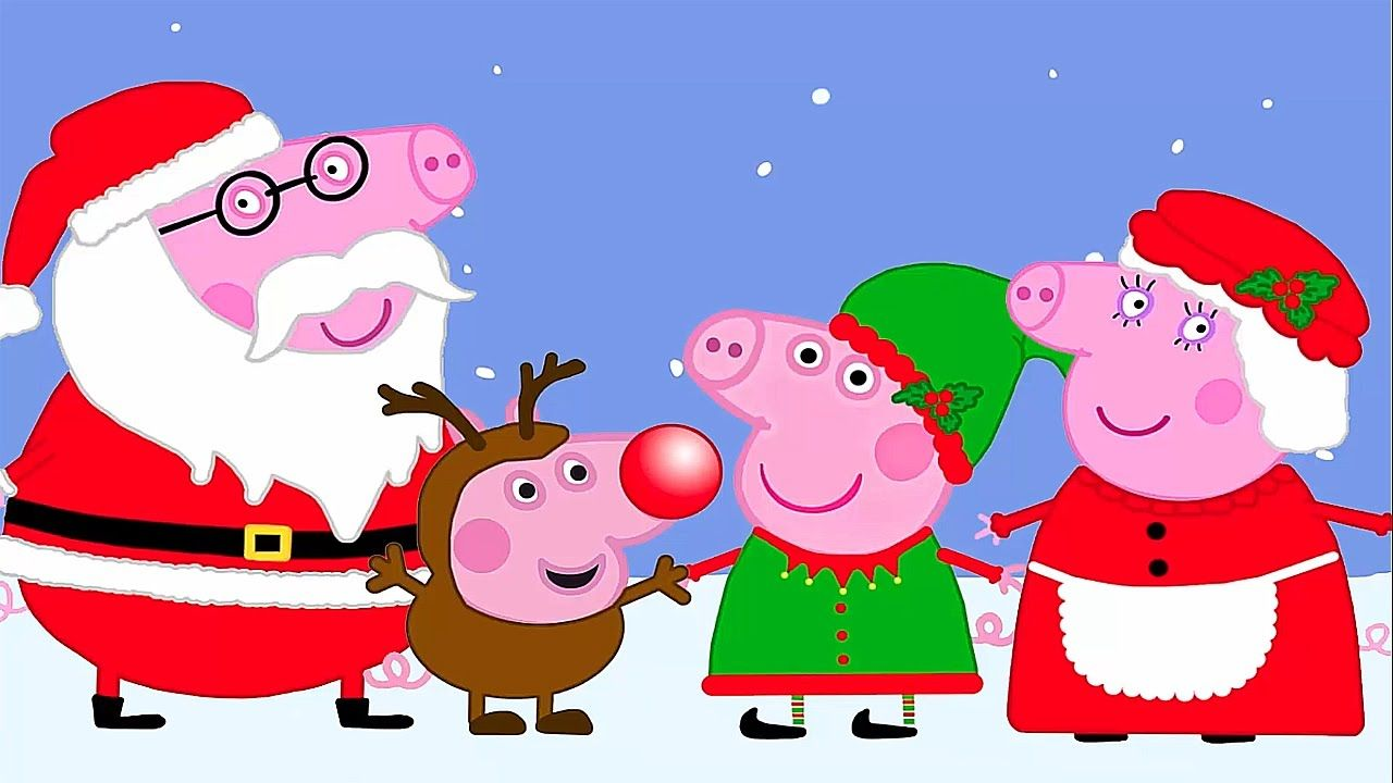 Peppa Pig Christmas.Pin On December School