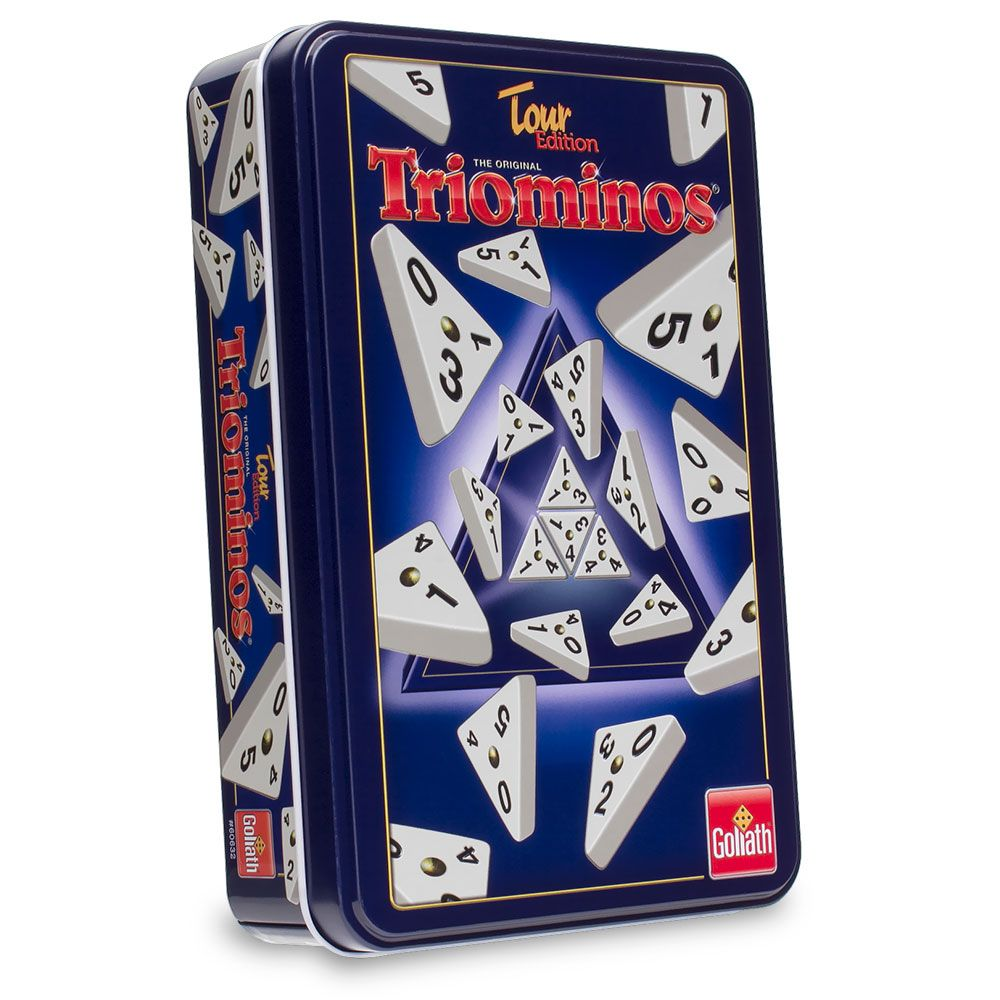 With more than 21 million games sold, Triominos® adds a third dimension to the classic game of dominoes. And if you know how to play dominoes you already know how to play Triominos, so you can start playing right away. Triominos®' combination of luck and skill means that you can beat your friends fair and square (or should we say, fair and%2...