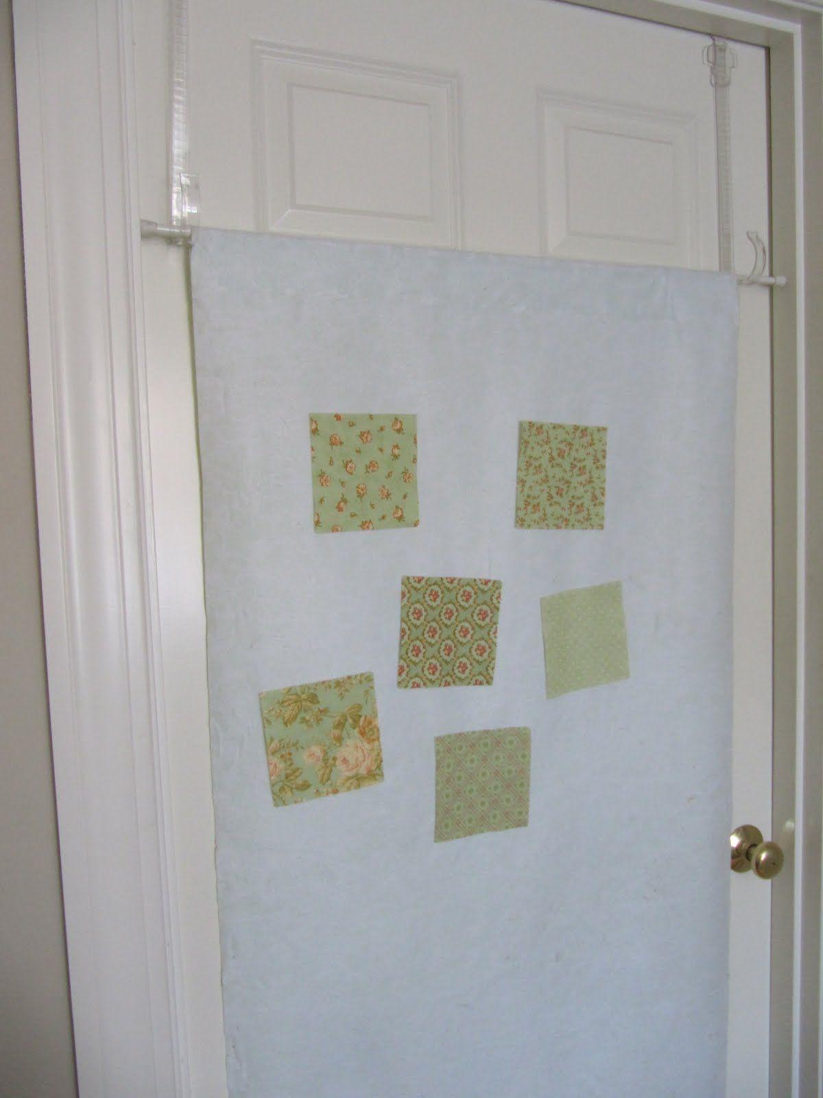 Sew Many Ways Tool Time Tuesday Door Design Wall Quilt Design Wall Quilting Room Wall Design
