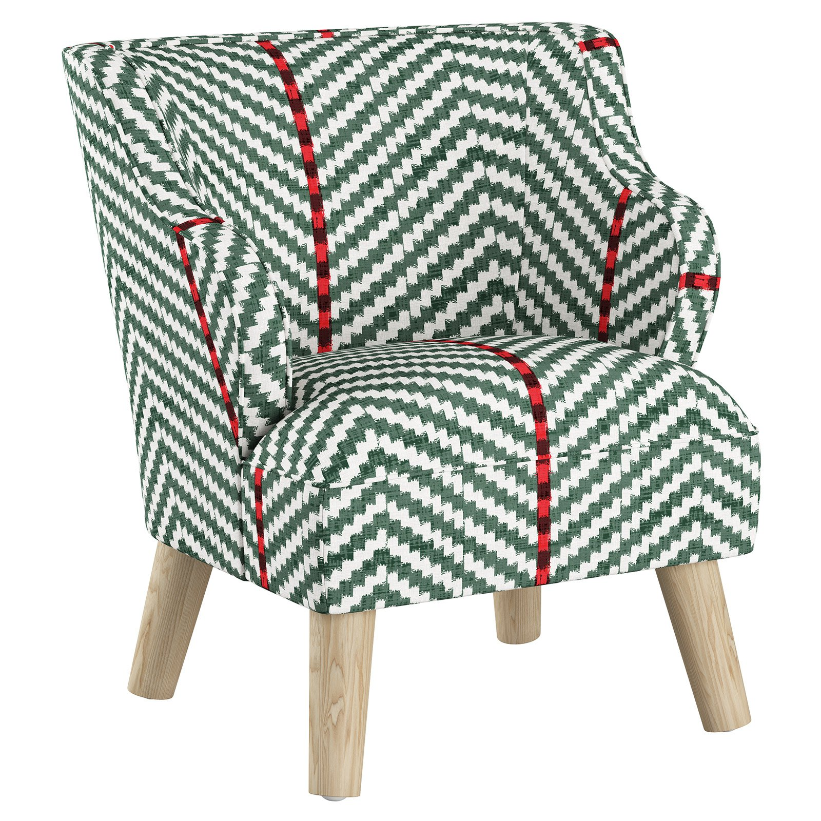 Miraculous Skyline Furniture Broken Twill Evergreen Kids Modern Chair Creativecarmelina Interior Chair Design Creativecarmelinacom