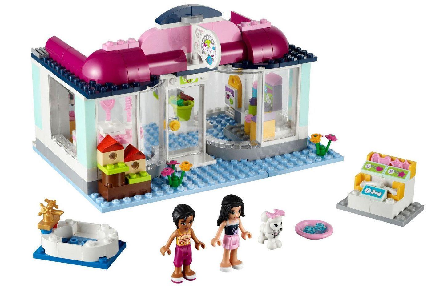 Wonderlijk ✓ LEGO Friends; Heartlake Pet Salon | D. | Lego friends, Lego BB-82