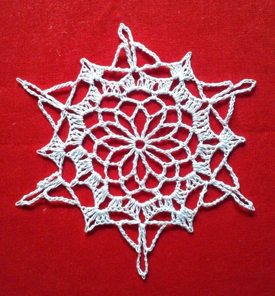 Free crochet patterns white snowflake christmas ornament projects free crochet patterns white snowflake christmas ornament dt1010fo
