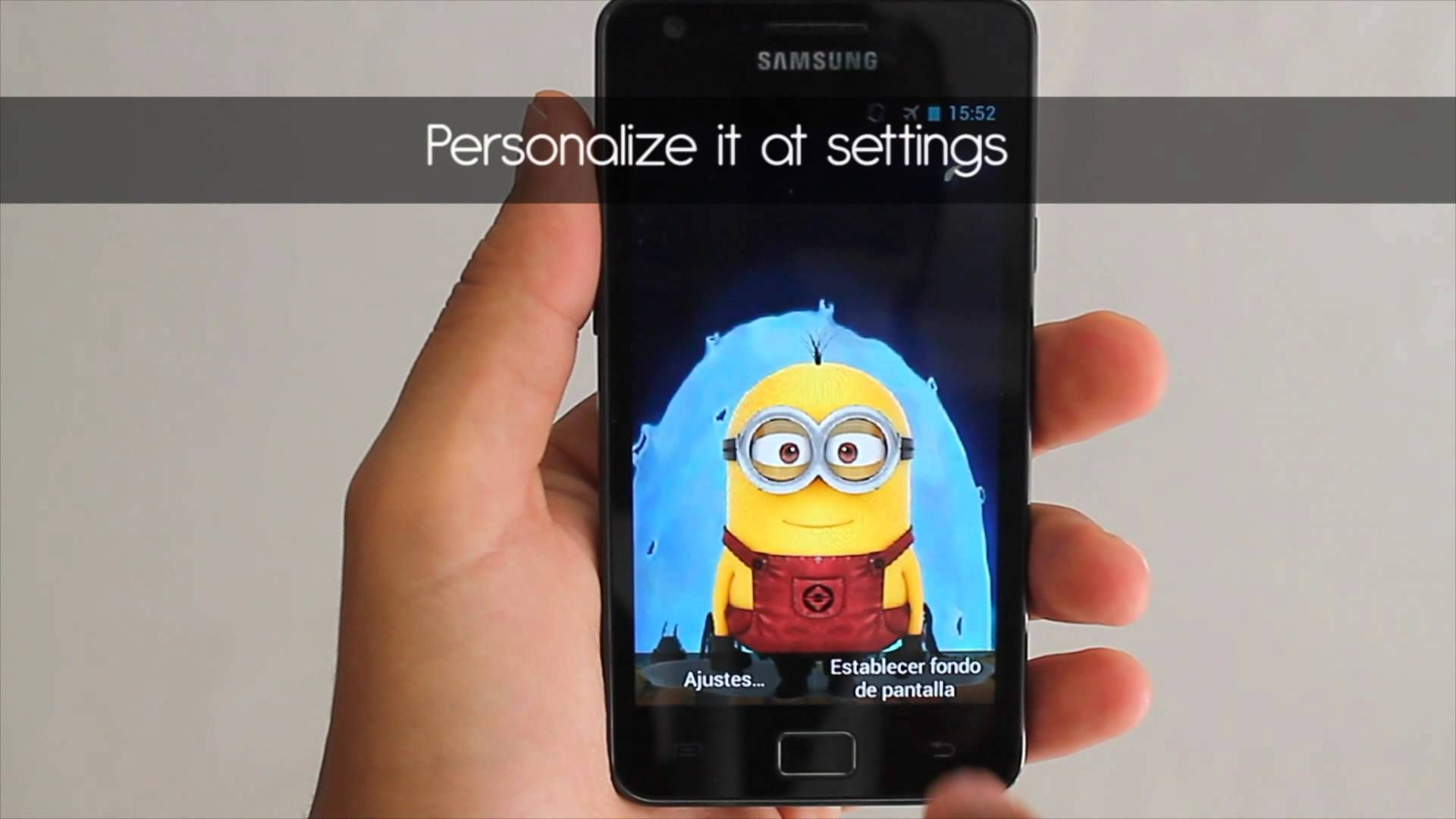 evil minion live wallpaper youtube