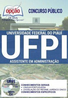 Apostila Ufpi 2017 Assistente Em Administracao Pdf Download Baixar