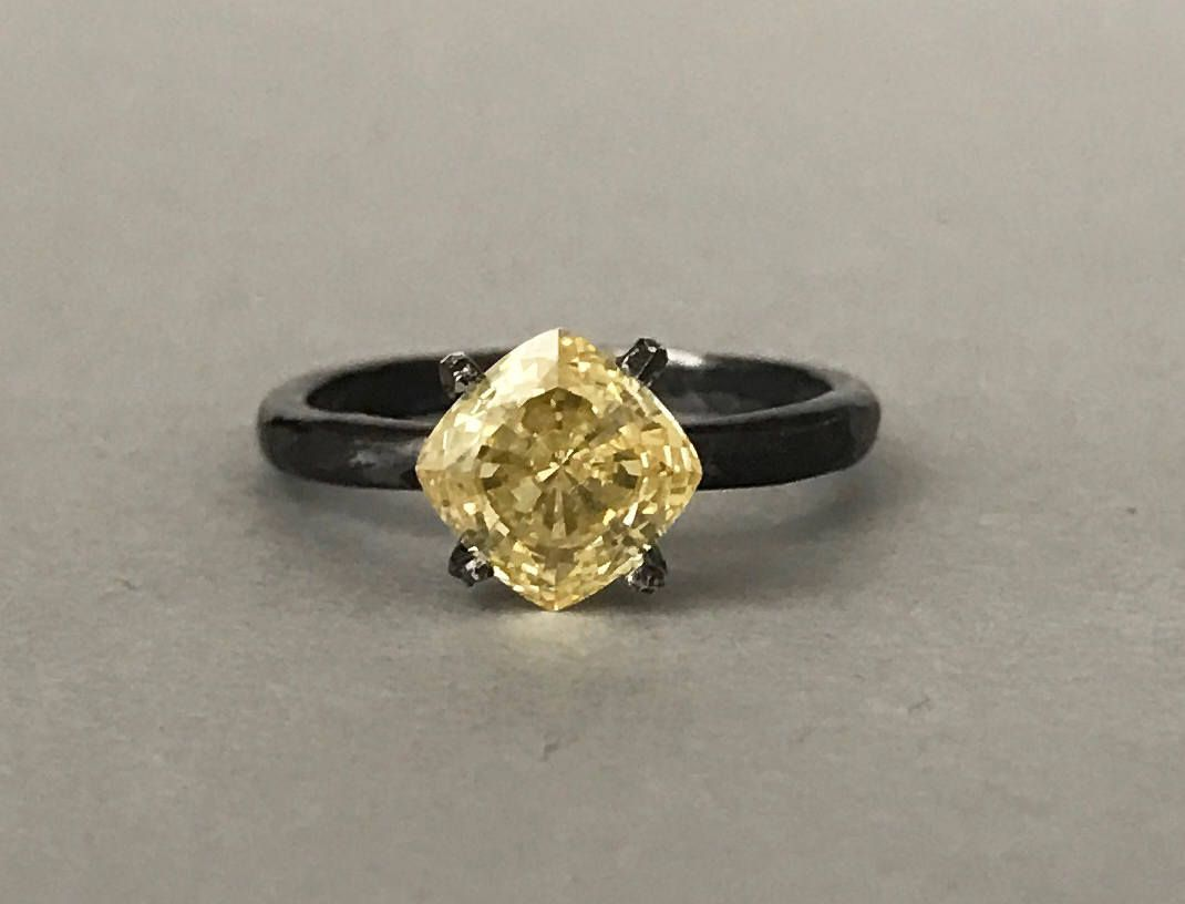 rings engagement of ring diamond heidi klum canary wedding yellow