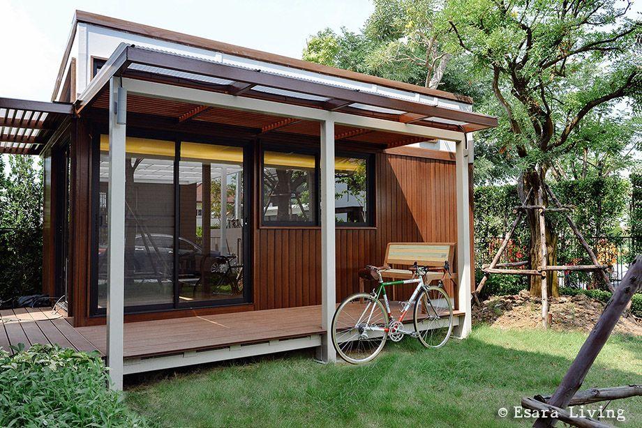 Prefab House By Esara Living 03 บ าน แบบชานบ าน ออกแบบบ าน