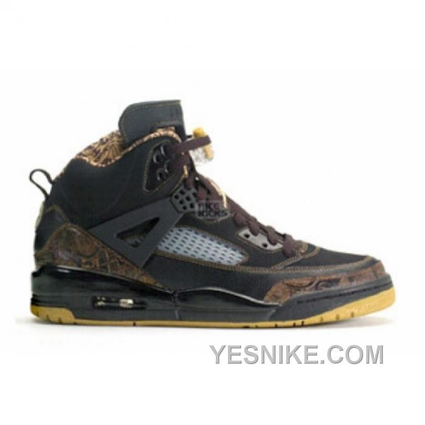 Big Discount 66 OFF Air Jordan Spizike Black Metallic Gold 315371072