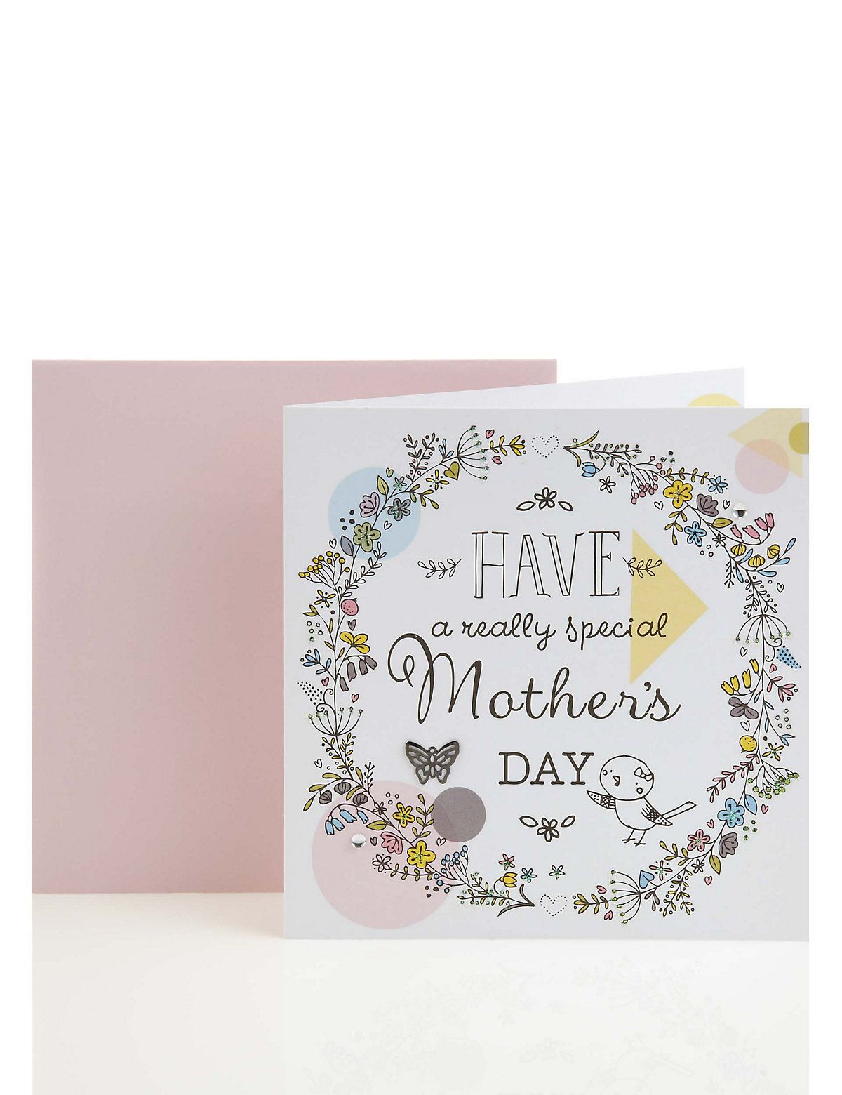 Cute floral mothers day card ms design paper goods cute floral mothers day card ms kristyandbryce Image collections