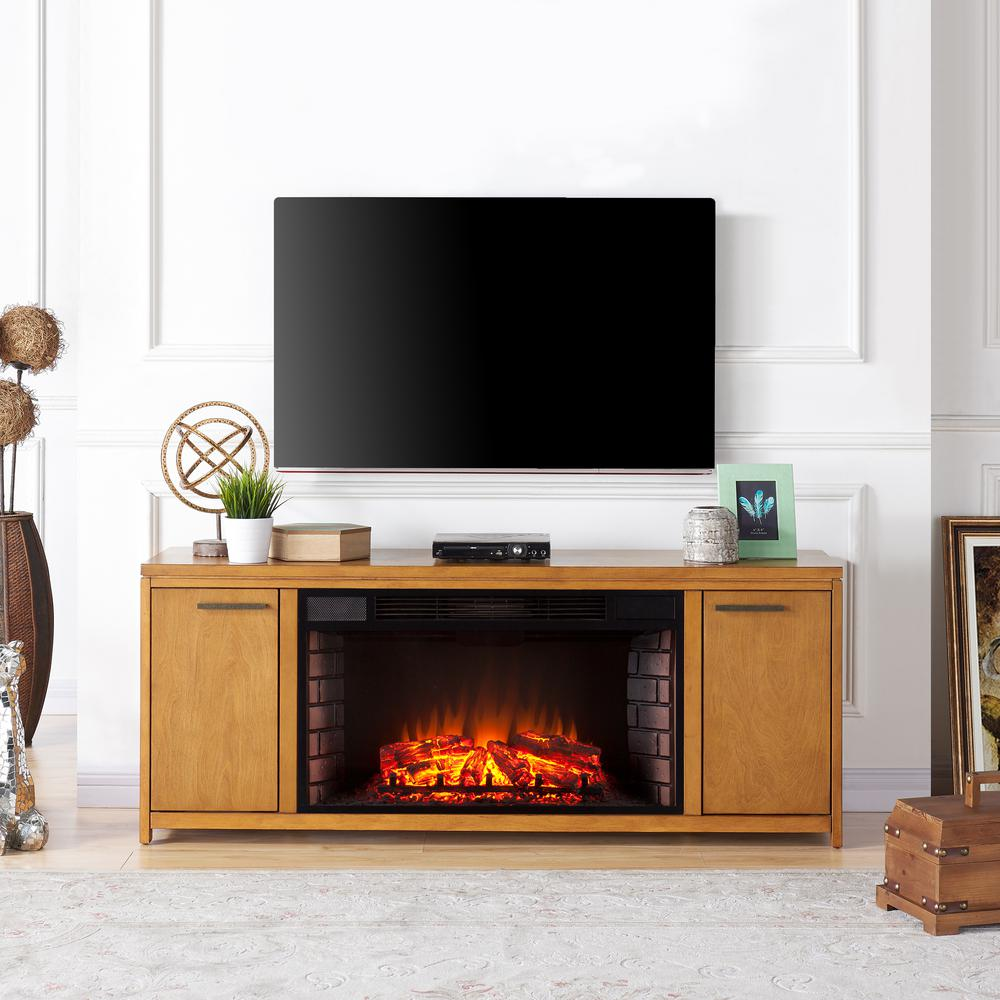 Electric Fireplace TV Stand with 33 in