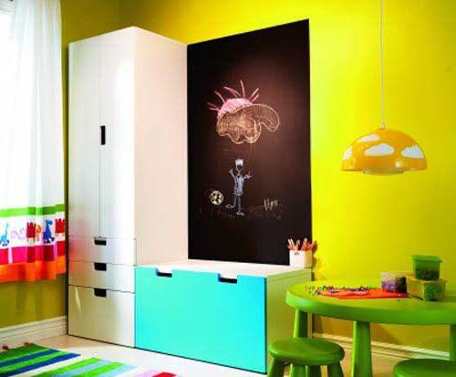 meuble modulable enfant ikea stuva - Chambre Garcon Ikea