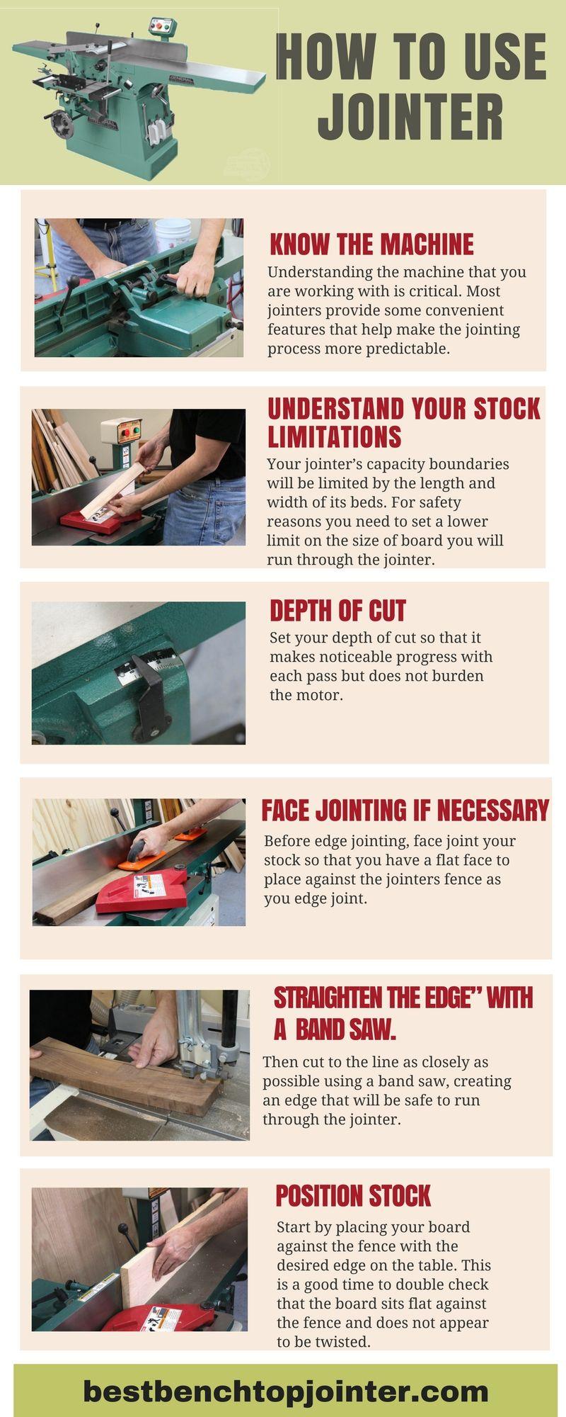 Https Bestbenchtopjointer Com Jointer Vs Planer Steps For The Use Of Jointer Are You Beginner For Woodwork Learn Woodworking Woodworking Woodworking Jointer
