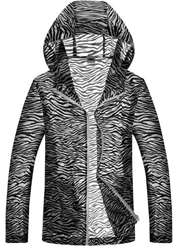 Girls' Cycling Jackets - Panegy Outdoor Zebrastripe Lightweight Sun Protect Windproof Skin Jacket for Men  Women * Find out more about the great product at the image link.