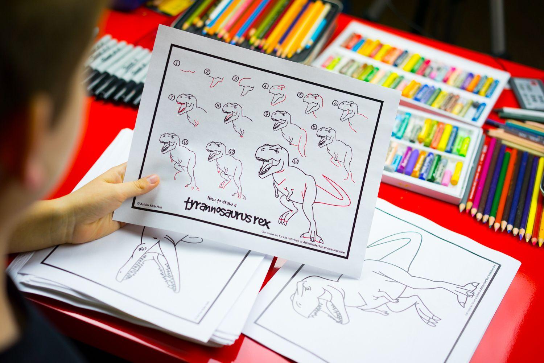 how to draw 50 dinosaurs free ebook art for kids hub rh pinterest com art hub how to draw a turkey art hub how to draw a horse