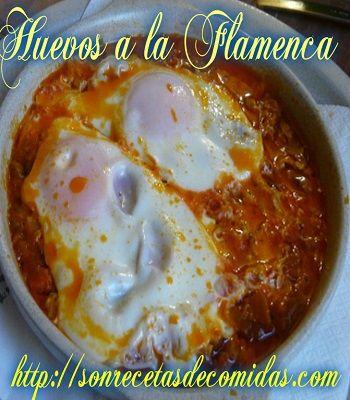 Huevos A La Flamenca Recetas De Cocinas Brunch Food Breakfast