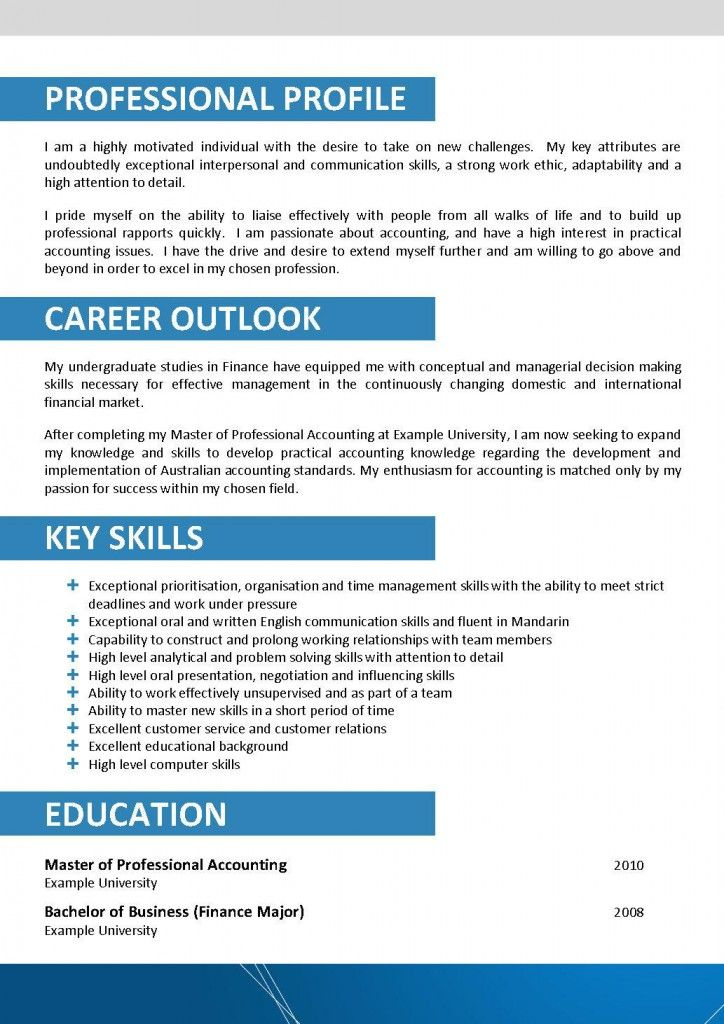 Architecture Resume Templates Resume Samples Pinterest - examples of key skills in resume