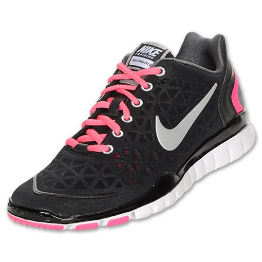 dbe25a5321cd Think Pink Nike Free Tr Fit 2 Girls Running Shoes Glacier White 579968