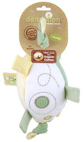 5.5 Inch Taggies Colours Mini Plush Baby Rattle Toy by Mary Meyer