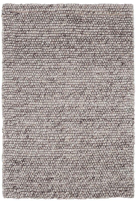 Niels Grey Woven Wool Viscose Rug Dash Amp Albert Rugs