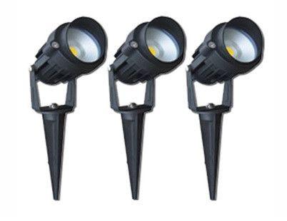 Garden Lights 3 X 6w Led Spike Kit