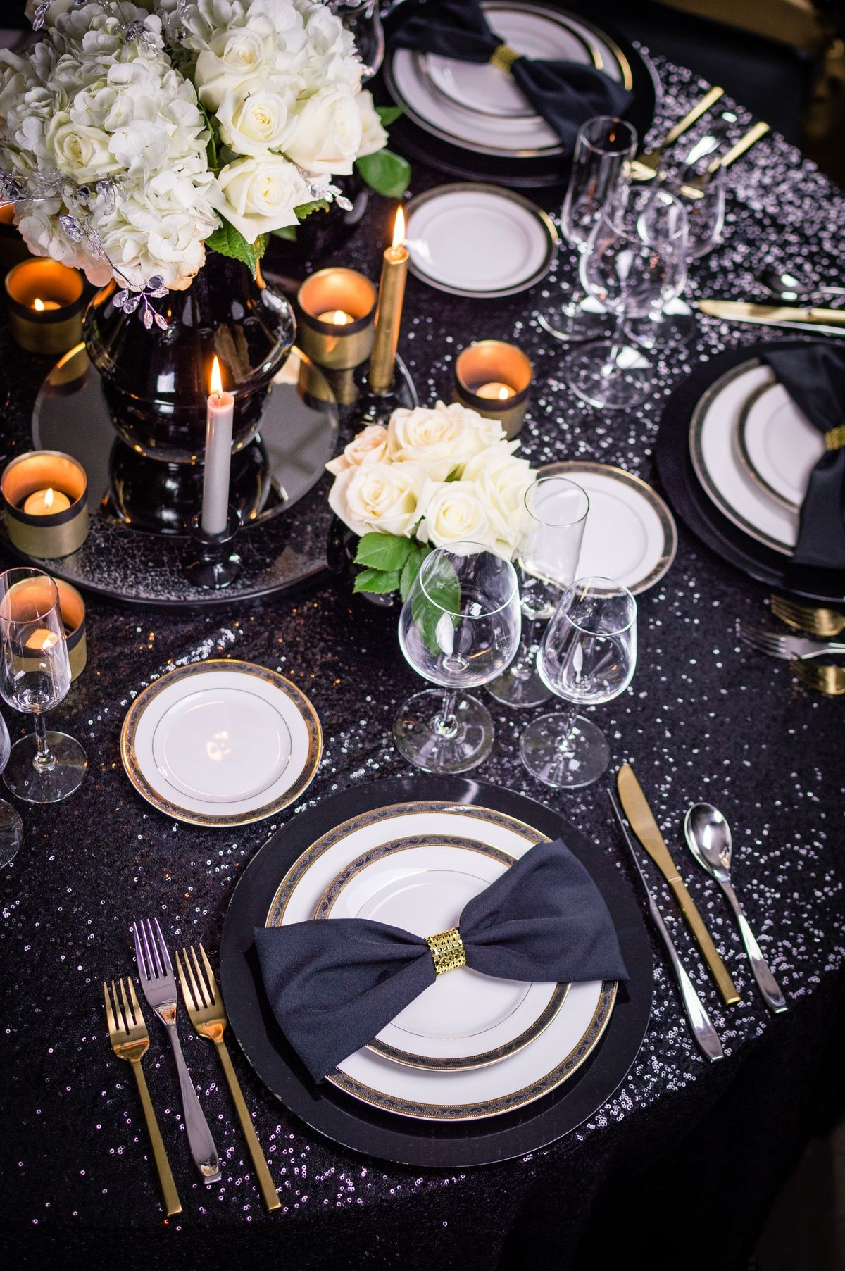 Party And Tent Rentals In Austin Gold Wedding Decorations