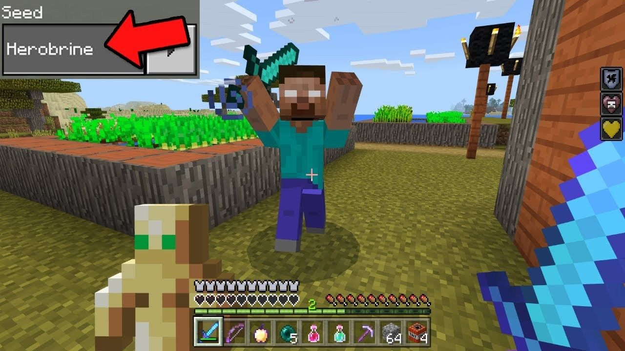 Want To Find Herobrine In Minecraft Pocket Edition Here Are The