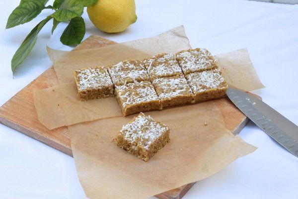 luscious lemon bars from whole food energy cookbook recipe pinterest food energy lemon and bar