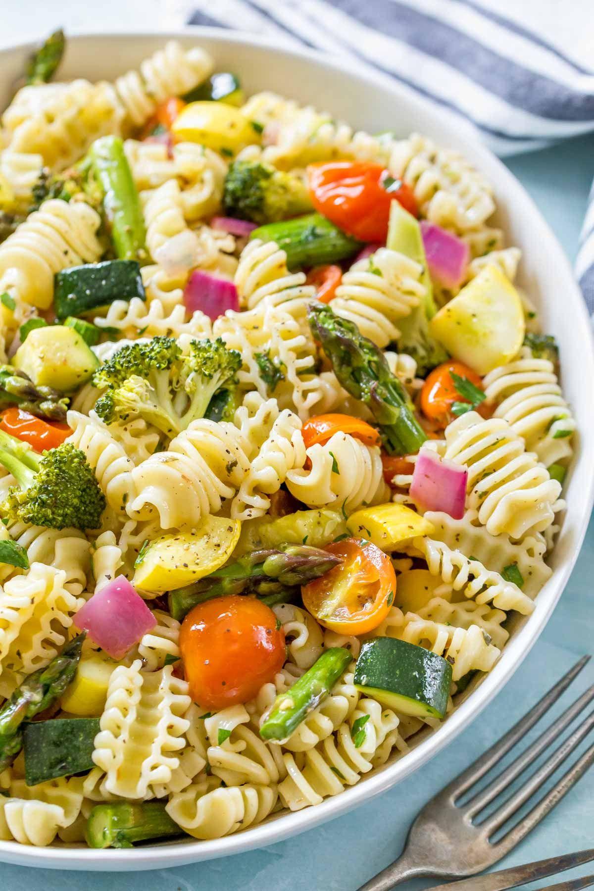 Roasted Vegetable Pasta Salad Dairy Free Vegan Simply Whisked Recipe Vegetable Pasta Salads Roasted Vegetable Pasta Vegan Pasta Salad