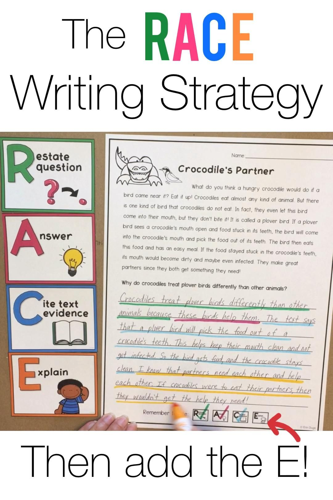 Race Writing Strategy For Text Dependent Questions Video Races Writing Strategy Race Writing Writing Strategies [ 1620 x 1080 Pixel ]