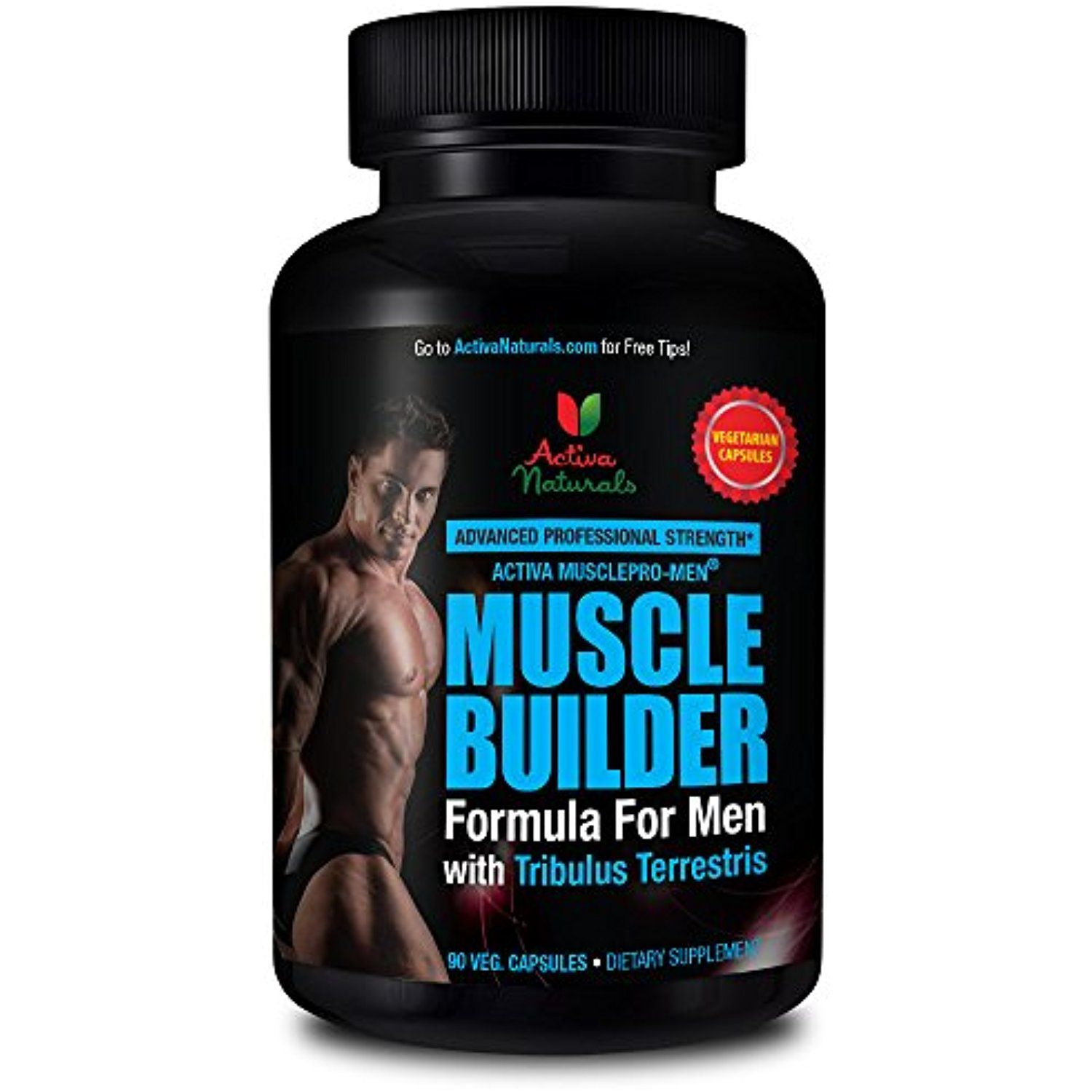 Activa Naturals Muscle Builder Supplement For Men With