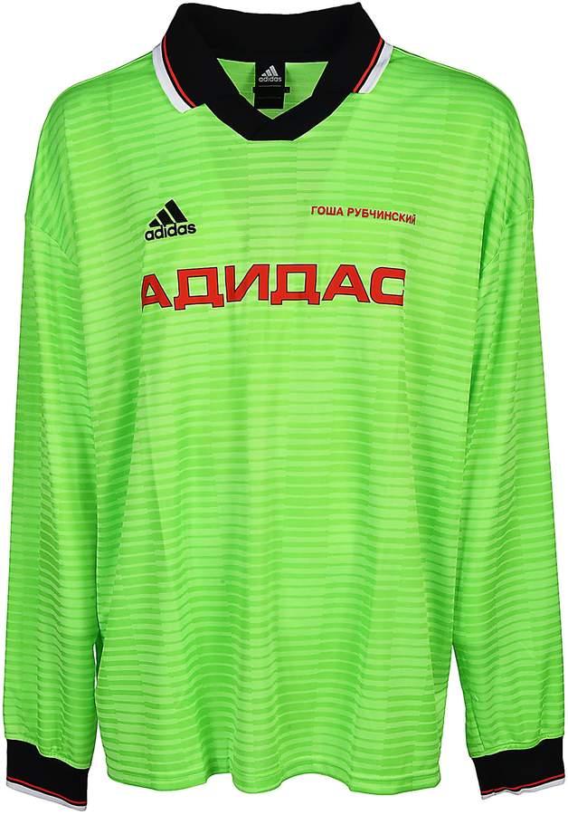 Gosha Rubchinskiy X Adidas Football Jersey Style T shirt